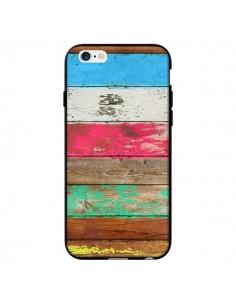 Coque Eco Fashion Bois pour iPhone 6 - Maximilian San