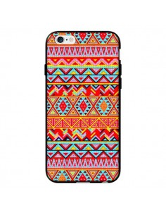 Coque India Style Pattern Bois Azteque pour iPhone 6 - Maximilian San