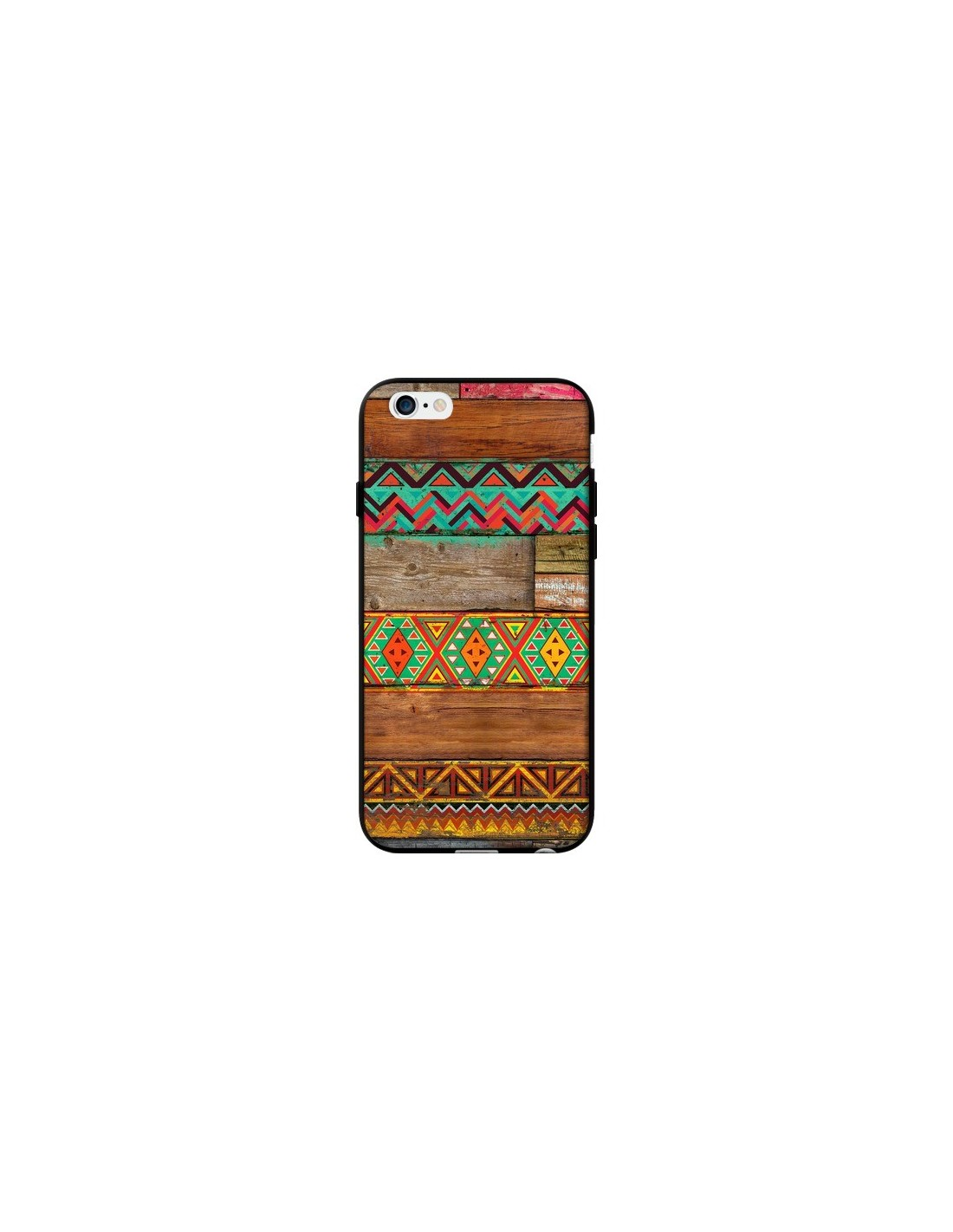 coque indian wood bois azteque pour iphone 6 et 6s maximilian san. Black Bedroom Furniture Sets. Home Design Ideas