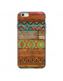 Coque Indian Wood Bois Azteque pour iPhone 6 - Maximilian San