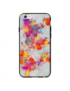 Coque Terre Map Monde Mother Earth Crying pour iPhone 6 - Maximilian San