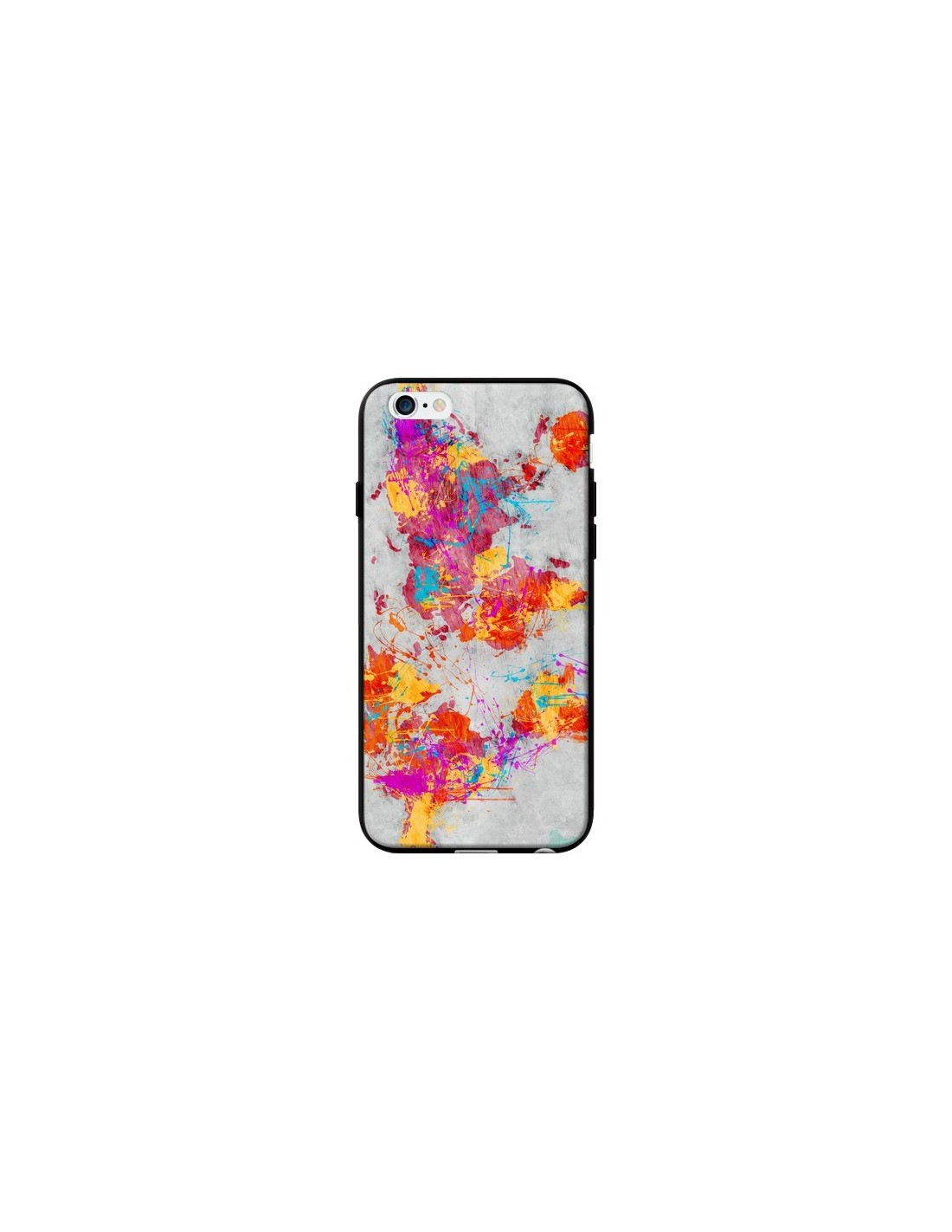 coque iphone 8 silicone monde