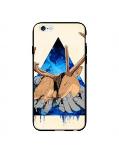 Coque Cerf Triangle Seconde Chance pour iPhone 6 - Maximilian San
