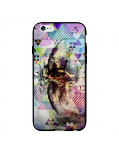 Coque Oeil Triangle Oiseau Cry Bird pour iPhone 6 - Maximilian San