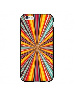 Coque Horizon Bandes Multicolores pour iPhone 6 - Maximilian San