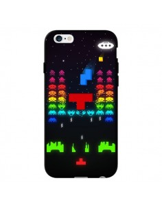 Coque Invatris Space Invaders Tetris Jeu pour iPhone 6 - Maximilian San