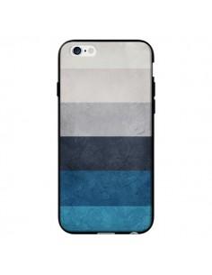 Coque Bandes Horizontales Greece Hues pour iPhone 6 - Maximilian San
