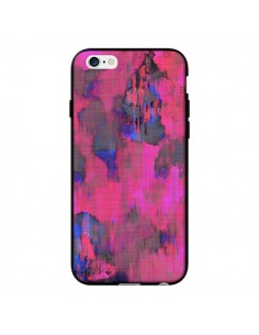 Coque Fleurs Rose Lysergic Pink pour iPhone 6 - Maximilian San