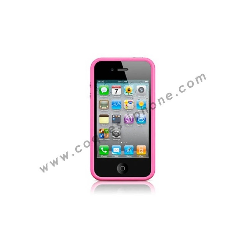 Bumper pour iPhone 4/4S - Rose