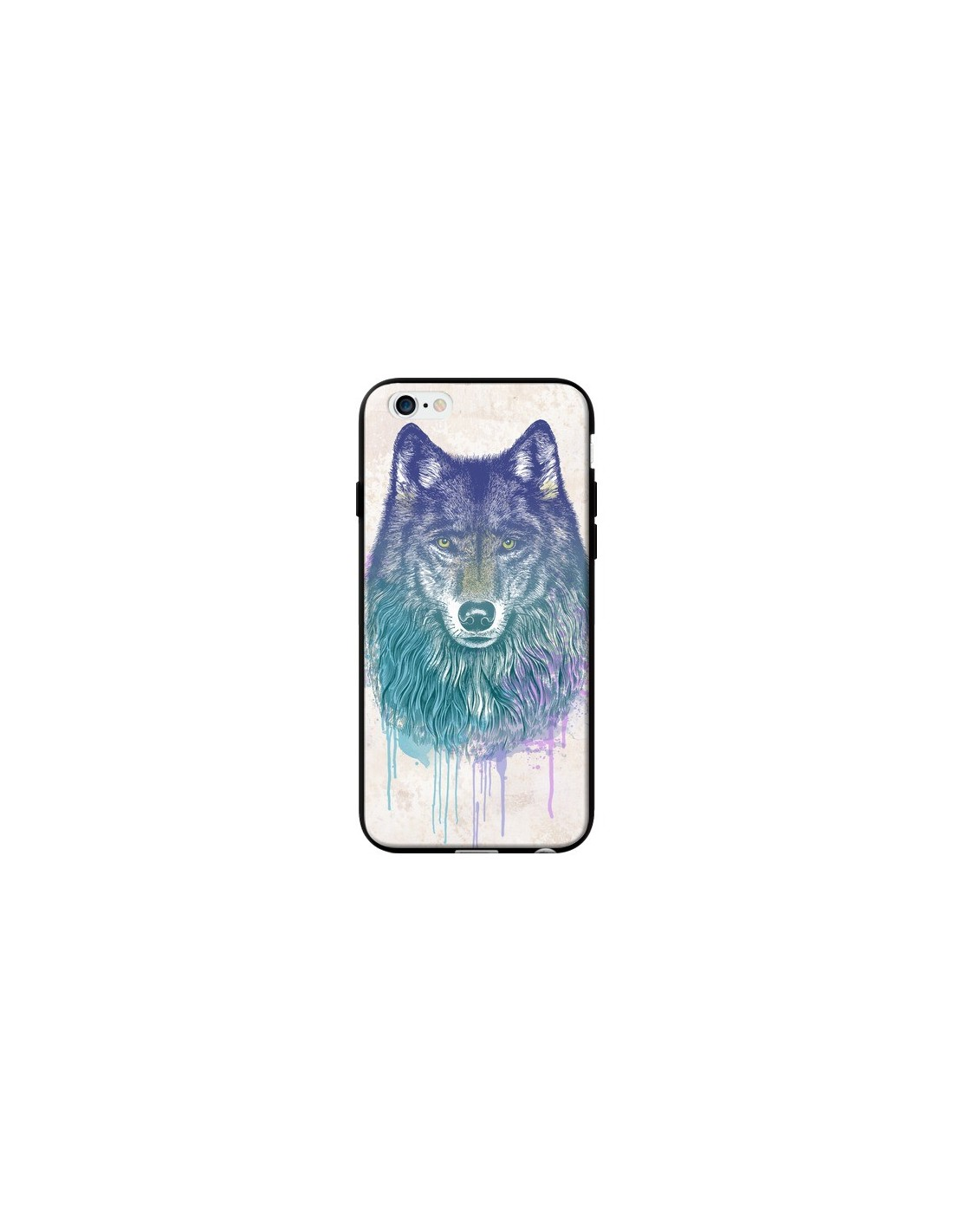 coque loup iphone 5