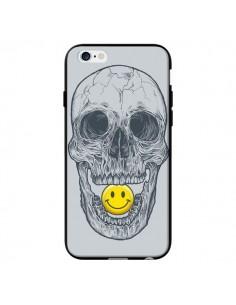 Coque Smiley Face Tête de Mort pour iPhone 6 - Rachel Caldwell