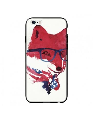 coque iphone 6 et 6s american fox renard usa robertfarkas