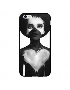 Coque Fille Coeur Hold On pour iPhone 6 - Ruben Ireland
