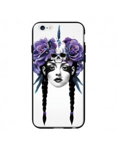 Coque Fille Fleurs Warrior pour iPhone 6 - Ruben Ireland