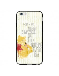 Coque Winnie I do nothing every day pour iPhone 6 - Sara Eshak