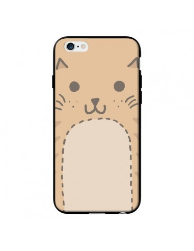 Coque Big Cat chat pour iPhone 6 - Santiago Taberna