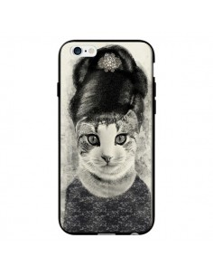 Coque Audrey Cat Chat pour iPhone 6 - Tipsy Eyes