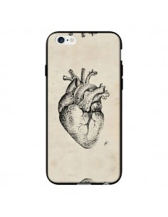 Coque Coeur Vintage pour iPhone 6 - Tipsy Eyes