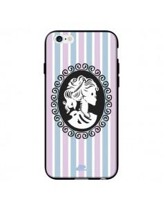 Coque Camée Squelette Rose pour iPhone 6 - Enilec