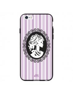 Coque Camée Squelette Rose et Bleue pour iPhone 6 - Enilec