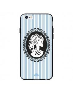 Coque Camée Squelette Bleue pour iPhone 6 - Enilec