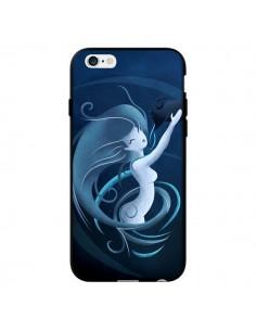 Coque Aquarius Girl La Petite Sirene pour iPhone 6 - LouJah