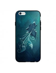 Coque Wolfeather Plume Loup pour iPhone 6 - LouJah