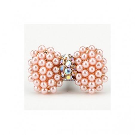 Plugy Noeud Papillon Perles Diamant pour prise jack