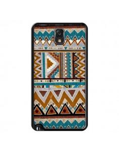 Coque Azteque Vert Marron pour Samsung Galaxy Note III - Kris Tate