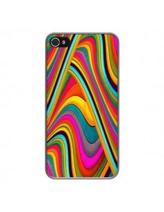 Coque Acid Vagues pour iPhone 4 et 4S - Danny Ivan