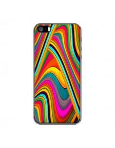 Coque Acid Vagues pour iPhone 5 et 5S - Danny Ivan