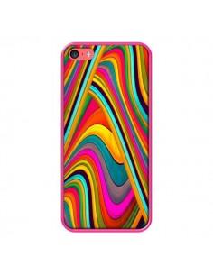 Coque Acid Vagues pour iPhone 5C - Danny Ivan