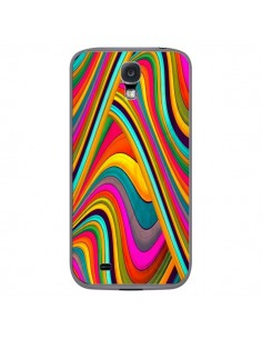 Coque Acid Vagues pour Samsung Galaxy S4 - Danny Ivan