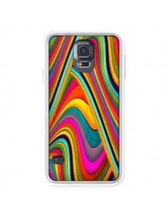 Coque Acid Vagues pour Samsung Galaxy S5 - Danny Ivan