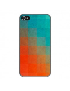 Coque Beach Pixel Surface pour iPhone 4 et 4S - Danny Ivan