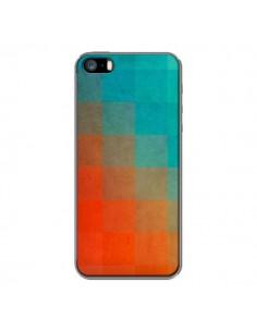 Coque Beach Pixel Surface pour iPhone 5 et 5S - Danny Ivan
