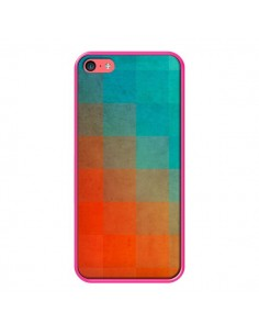 Coque Beach Pixel Surface pour iPhone 5C - Danny Ivan