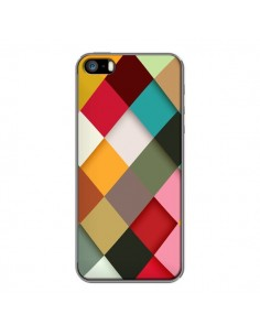 Coque Colorful Mosaique pour iPhone 5 et 5S - Danny Ivan