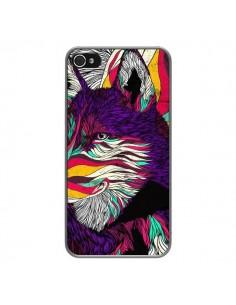 Coque Color Husky Chien Loup pour iPhone 4 et 4S - Danny Ivan