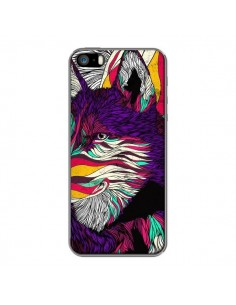 Coque Color Husky Chien Loup pour iPhone 5 et 5S - Danny Ivan