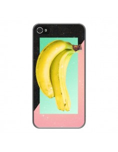 Coque Eat Banana Banane Fruit pour iPhone 4 et 4S - Danny Ivan