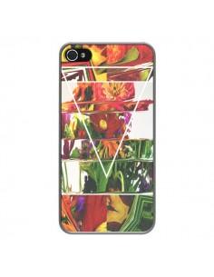 Coque Facke Flowers Fleurs pour iPhone 4 et 4S - Danny Ivan