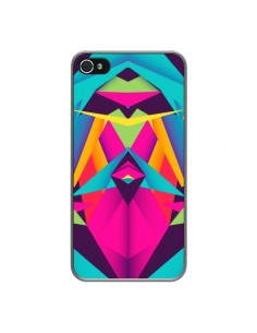 Coque Friendly Color Azteque pour iPhone 4 et 4S - Danny Ivan