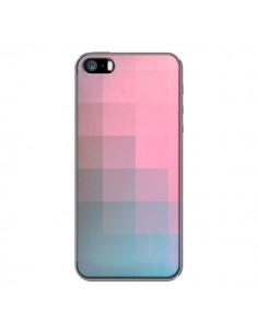 Coque Girly Pixel Surface pour iPhone 5 et 5S - Danny Ivan