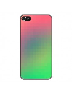 Coque Gradient Pixel pour iPhone 4 et 4S - Danny Ivan
