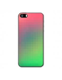 Coque Gradient Pixel pour iPhone 5 et 5S - Danny Ivan