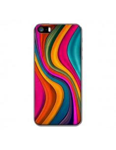 Coque Love Color Vagues pour iPhone 5 et 5S - Danny Ivan