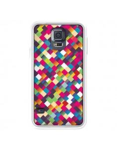 Coque Sweet Pattern Mosaique Azteque pour Samsung Galaxy S5 - Danny Ivan