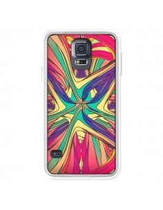 Coque Veins Veines Azteque Vagues pour Samsung Galaxy S5 - Danny Ivan