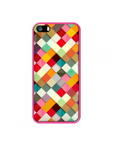 Coque Pass This On Azteque pour iPhone 5 et 5S - Danny Ivan